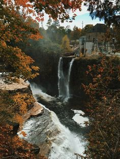 'Rainbow Falls New York' Art Print by Kevin Russ at ausable chasm in the adirondacks Bear Island, Hawaii Pictures, Rainbow Falls, Autumn In New York, New York Art, Tumblr, Take Better Photos, Beautiful Waterfalls, New Print