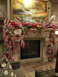 35 DIY Christmas Garland Ideas To Decorate your Home with for the Holidays - Hike n Dip Christmas Mantel Garland, Christmas Fireplace, Christmas Mantels, Outdoor Christmas Decorations, Christmas Centerpieces, Christmas Home, Christmas Holidays, Holiday Decor, White Christmas