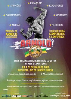 ► E você, vai ficar de fora? Arnold Classic Brasil 2015! www.arnoldclassicbrasil.com.br #arnoldclassicbrasil #arnoldclassic