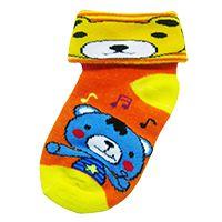 LA8L adalah kaos kaki lipat dengan bahan lembut cocok untuk bayi laki-laki atau perempuan usia 1-2th.  Warna: hijau, biru, pink, merah, kuning, orange Bahan: acrylic dan spandex  Harga Rp.54.500 / LS. http://kaoskaki.indosock.co.id/la8l/