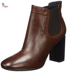 Geox Lucinda, Boots femme - Marron (Taupe), 39 EU