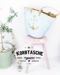 DIY Anker-Korbtasche by http://titatoni.blogspot.de/