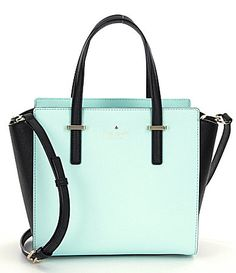 kate spade new york Cedar Street Small Hayden Color Block Leather Satchel   Dillards Travel Handbags 557d292c7eaa