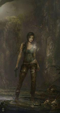 Lara Croft again. I'm pretty sure she is my childhood idol