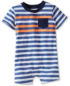 Carter's Baby Boys' Striped Romper