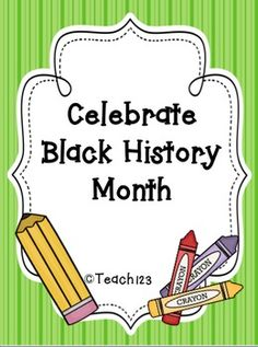 Black History Month Activities - math and literacy activities $