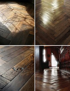hardwood floors - they're beautiful