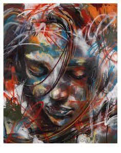 David Walker - graffiti at it's most beautiful #streetart #mural