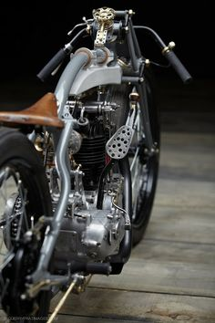 Detail of The Rudge 'bitsa',