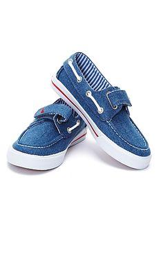 Nautical Unisex Denim shoes