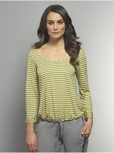 Love NY Collection - Striped Raglan Pullover