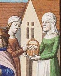 Medieval french basket ? c. 1490?
