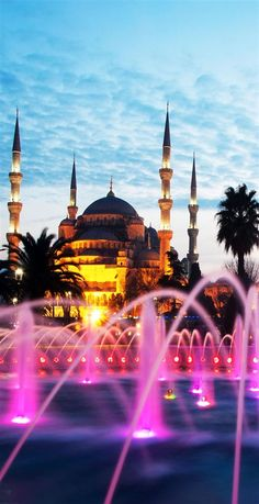 Beautiful View of Sultanahmet Mosque, Istanbul