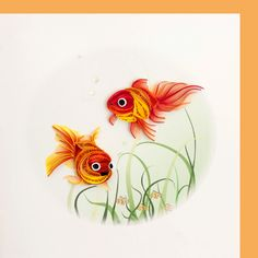 quilled Goldfish - bjl
