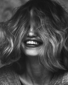 A smile is the most beautiful thing a woman can wear #smile