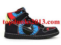 Famous Nike Cassette Playa Black Red Orion Blue Nike Dunk High Top Premium Premium Quality