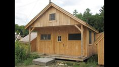 2:20 16x20 Vermont Cottage Kit - 2 people 40 hours. Also available as Plans. Kits ship *Free in the continental US + eastern Canada. http://jamaicacottageshop.com/ http://jamaicacottageshop.com/free-shipping/ #jamaicacottageshop #cabinkits