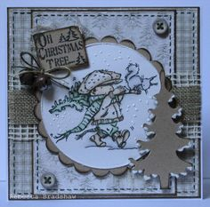 The Perfect Tree and sentiment from Christmas Grungy Messages set (with Maja Design papers) 1st Christmas, Christmas Themes, Christmas Cards, Xmas, Lily Of The Valley, Card Ideas, Stamps, Messages, Paper