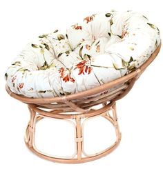 Autumn Floral £235.00 Papasan Chair, Chair Cushions, Replacement Cushions, Light Oak, Pet Beds, Decorative Items, Floral Design, Frames, Christmas Gifts