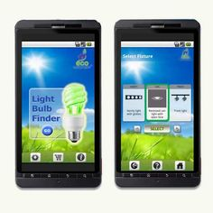 Mobile app lightbulb finder