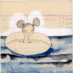 an 8 x 8 inch limited edition archival print by cori dantini