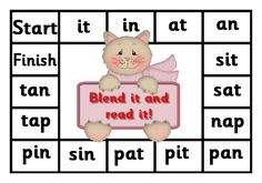 Debbie's Resource Cupboard: satpin, blend it and read it Phonics Activities, Early Literacy, Literacy Activities, Jolly Phonics Phase 1, Eyfs Curriculum, Goals Template, English Phonics, Phonics Sounds, English Activities