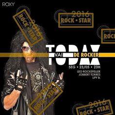 HOJE !!! Chegou a hora de tirar a camisa da sua bandinha preferida do armario e vir se jogar na pixta mais delicia da city resolvemos deslizar e acrescentar a nossa linha POP o som e estilo rock e hora de dar o grito e seguir a linha por que chegou a hora de TODAX VAI DE ROCKER Ah! essa ROXY !!! TODAX VAI DE PROMOROCKER: ENTRADA FREE DAS 23:00 as 23:30 (Listas Após) VODKA COM ENERGÉTICO R$1000 (Noite Toda) CATUZINHA SELVAGEM R$800 (Noite Toda) DOUBLE DOSE DE TEQUILA (Noite toda) PROMOTERS…