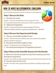rerun conclusion writing template science ideas science writing elementary science science. Black Bedroom Furniture Sets. Home Design Ideas