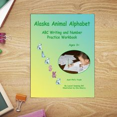 Handwriting Practice Book Alaska Kid's Handwriting Book | Etsy