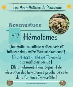 #AromAstuce Des bleus ? Découvrez une alternative à la fameuse Hélichryse…