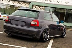 Audi S3 8L on Bentley wheels - Low