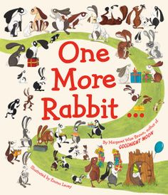 Creative rabbits by Emma Levey and playful words by Margaret Wise Brown. Cute Bunny Pictures, Rabbit Pictures, Sweet Stories, Funny Stories, Book Club Books, New Books, San Fernando Cadiz, Rabbit Book, Margaret Wise Brown