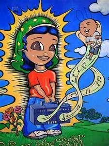 Artist: Isis Rodriguez, Mural San Francisco, California.