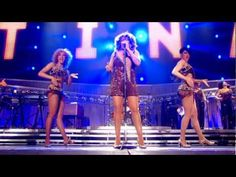 Tina Turner - Proud Mary (live 2009).  She is amazing (she was 70 in 2009!)
