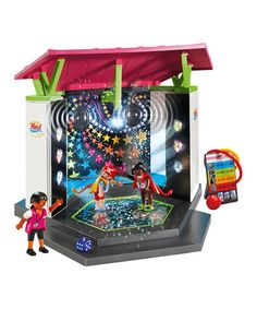 $39.99 marked down from $47! Playmobil Disco Club Play Set #playmobil #disco #dancing #dance #toys #doll #sale #kids #zulilyfinds