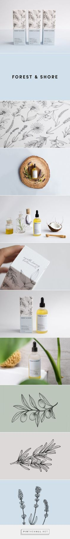 Forest & Shore by Claire Hartley on Packaging of the World - Creative Package Design Gallery - created on 2017-09-11 10:52:09
