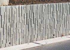 Mur à parement matricé  Chapsol