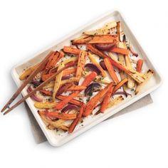 Avec un p'tit goût caramélisé irrésistible, les carottes et les panais retrouvent assurément leurs lettres de noblesse!