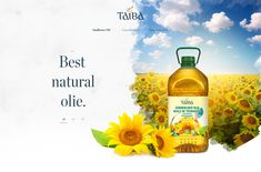 """Check out my @Behance project: """"Landing page Taiba"""" https://www.behance.net/gallery/63843689/Landing-page-Taiba"""