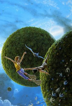 The Smoke Ring, Michael Whelan, 1987