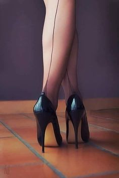 Seamed Stockings are fantastic. I have always found them to be titillating to say the least. #stilettoheelsstockings