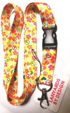 Lanyard Keychain, Id Badge Holders, Peace, Amazon, Yellow, Amazons, Riding Habit, Key Bracelet, Sobriety