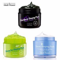 Medi Flower Moisturizing Nourishing Skin Care Night Sleeping Pack 100g #MediFlower