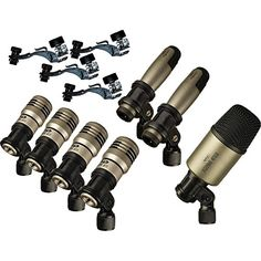 CAD Premium 7Piece Drum Microphone Kit >>> Visit the image link more details. Note:It is affiliate link to Amazon.