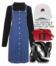 Untitled #571 by chandele on Polyvore featuring polyvore, fashion, style, Topshop, Sonia by Sonia Rykiel, Gucci and clothing