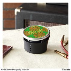 Mod Flower Design Bluetooth Speaker
