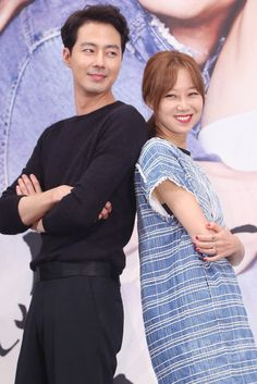 韓国・ソウル(Seoul)のインペリアルパレスホテル(Imperial Palace Seoul)で行われた、ソウル放送(SBS)の新ドラマ「大丈夫、愛さ(英題、It's Okay, That's Love)」の制作発表会に臨む、俳優のチョ・インソン(Zo In-Sung、左)と女優のコン・ヒョジン(Kong Hyo-Jin、2014年07月15日撮影)。(c)STARNEWS ▼25Jul2014AFP|SBSの新恋愛ドラマ「大丈夫、愛さ」、制作発表会 http://www.afpbb.com/articles/-/3021203 #Zo_In_Sung #Kong_Hyo_Jin