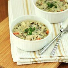 Copycat Panera Cream of Chicken and Wild Rice Soup