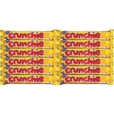 Cadbury Crunchie, Bar (Pack of Chocolate Lollies, Chocolate Bars, British Candy, British Sweets, Gourmet Recipes, Goodies, Count