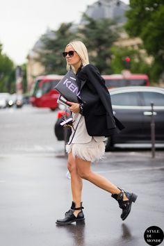 Celine Aagaard Street Style Street Fashion by STYLEDUMONDE Street Style Fashion Blog